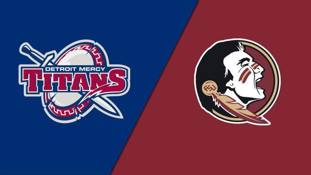 Detroit vs. #8 Florida State (Softball)
