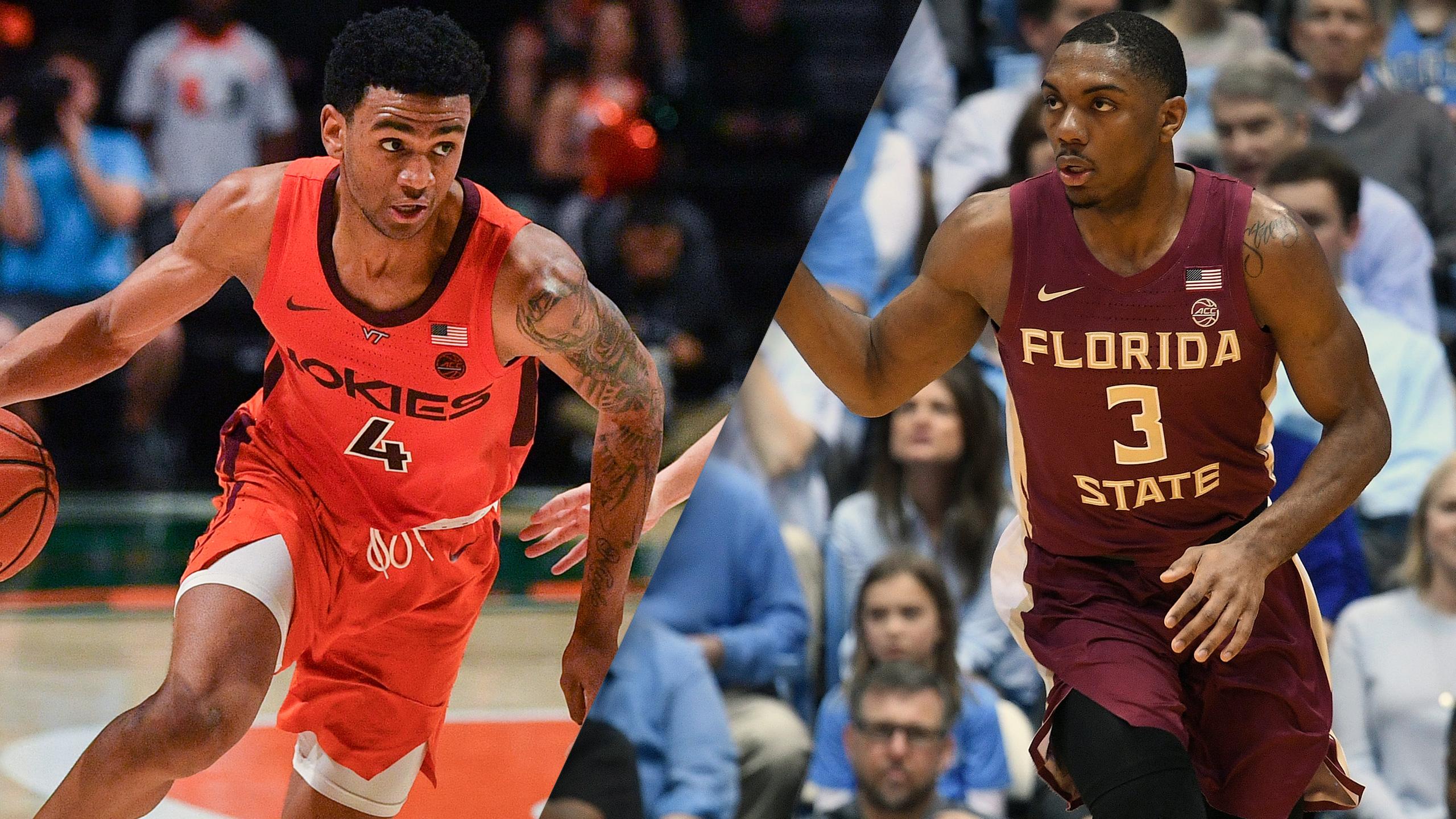 #16 Virginia Tech vs. #12 Florida State (Quarterfinal #2) (ACC Men's Basketball Tournament)