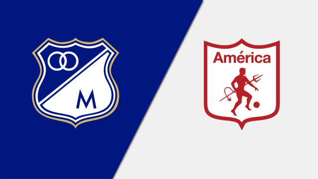 In Spanish-Millonarios vs. America de Cali (Final) (International Friendly)