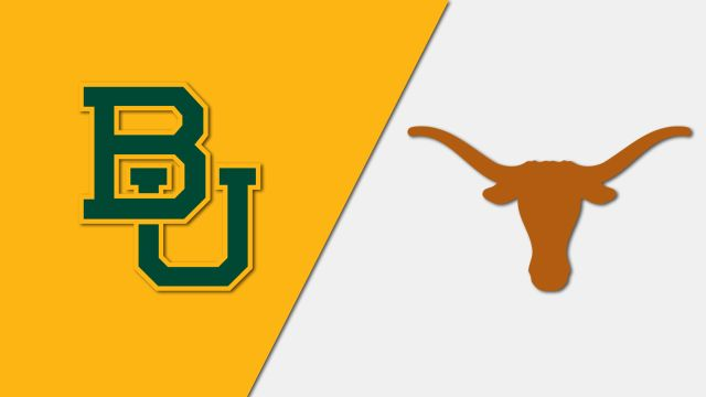 Baylor vs. Texas (re-air)