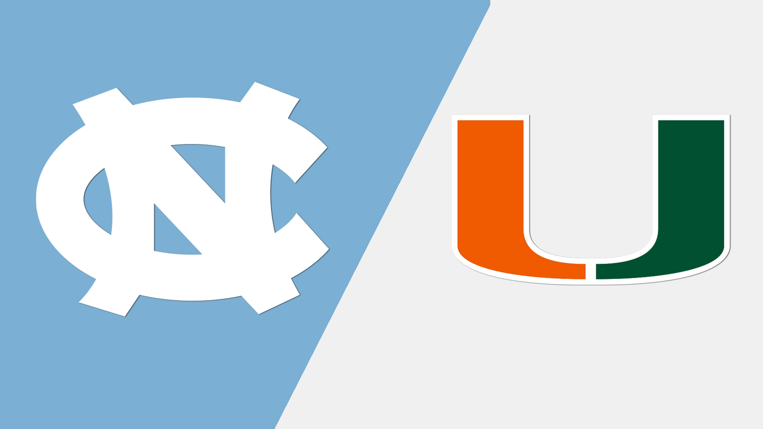 North Carolina vs. Miami (W Basketball)