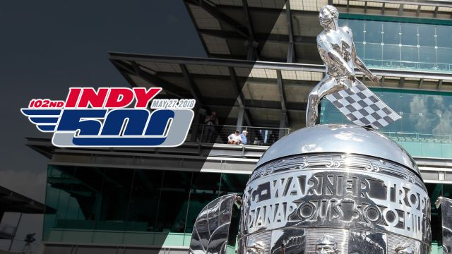 The 102nd Indianapolis 500 telecast presented by Firestone