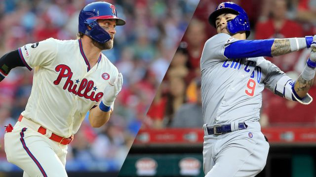 In Spanish-Philadelphia Phillies vs. Chicago Cubs