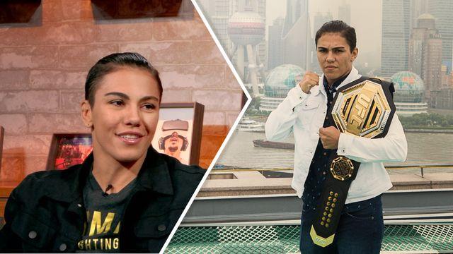 Jéssica Andrade - Amor pelos fãs, destinada ao UFC e revanche com Namajunas