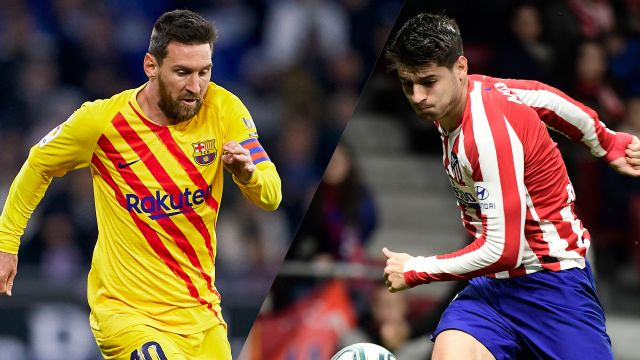 In Spanish-Barcelona vs. Atlético Madrid (Semifinal) (Super Copa)