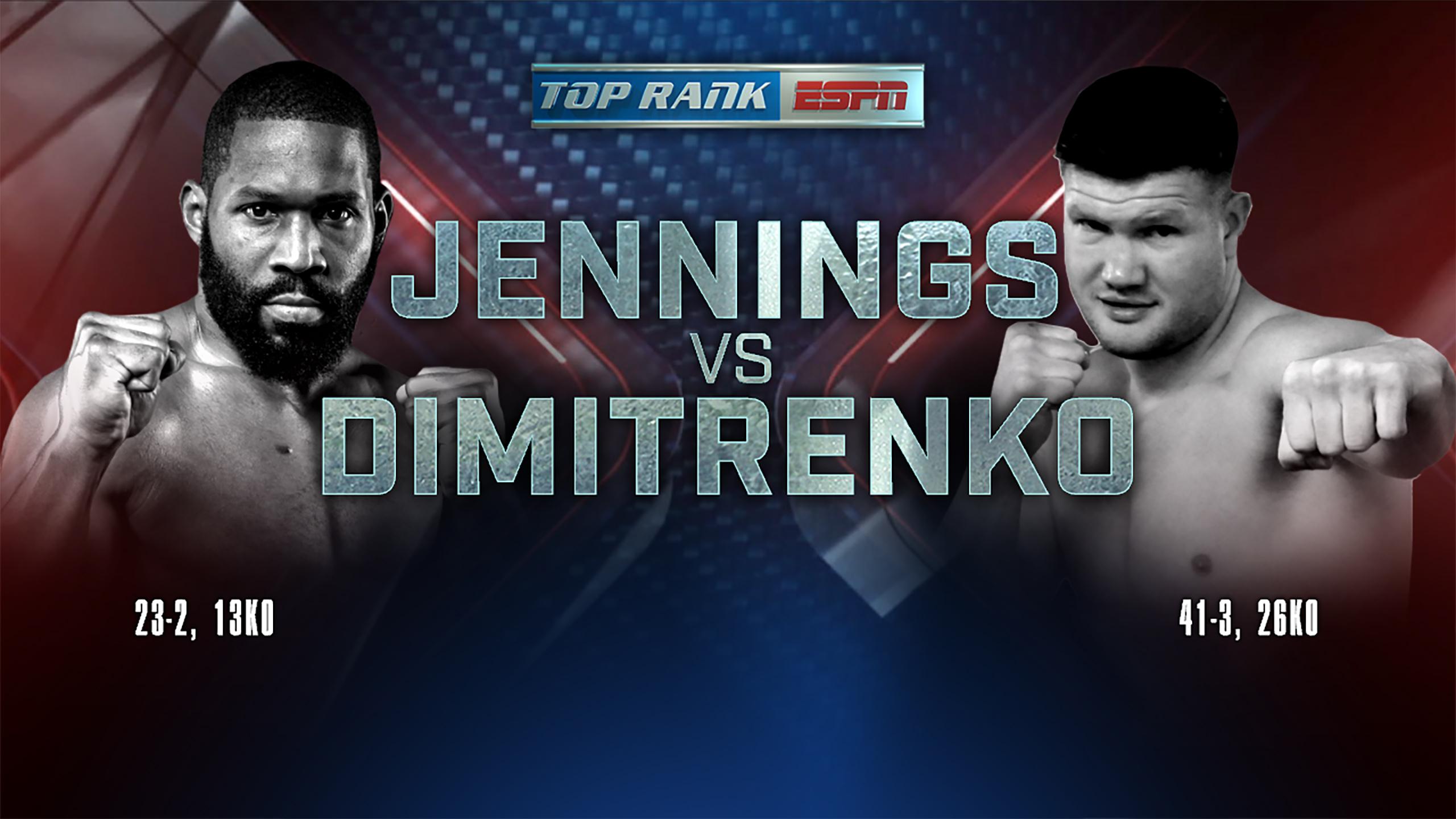 In Spanish - Bryant Jennings vs. Alexander Dimitrenko