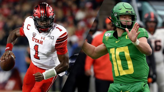 In Spanish-#5 Utah vs. #13 Oregon (Final) (Football)