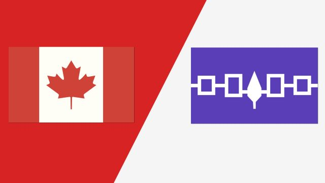 Canada vs. Iroquois Nationals (Semifinal #1) (2018 FIL World Lacrosse Championships)