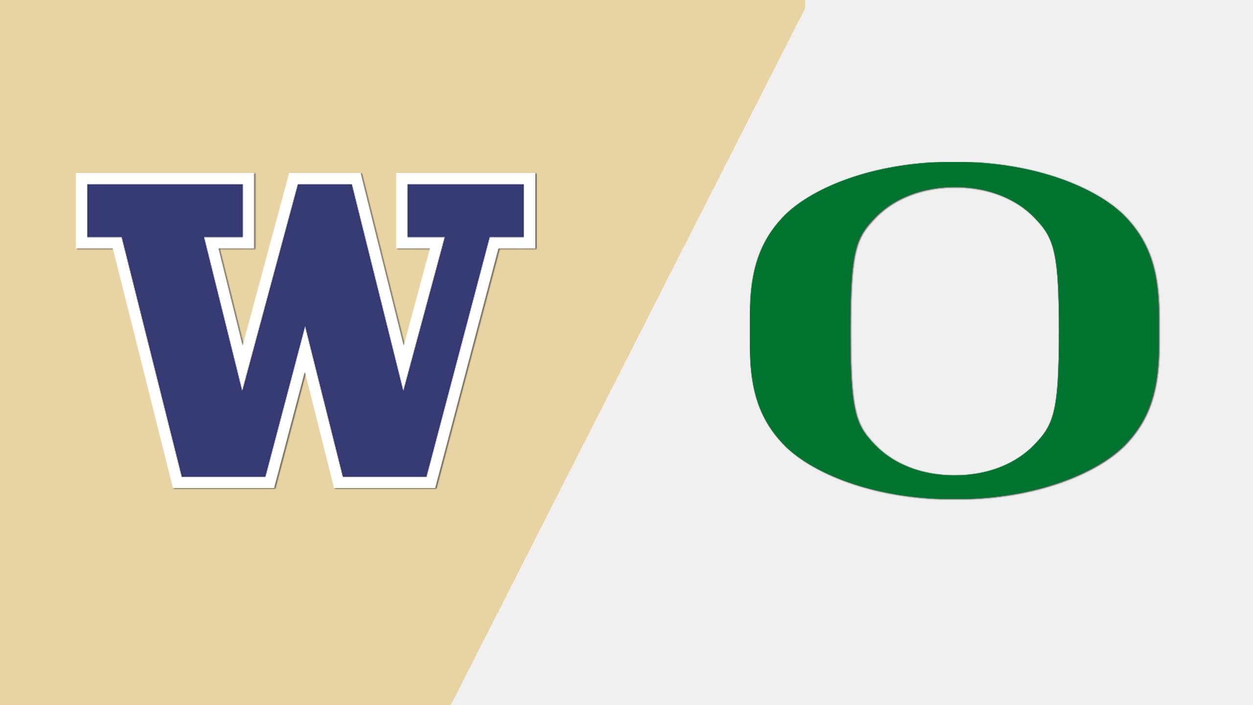 Washington vs. Oregon (M Basketball) (re-air)