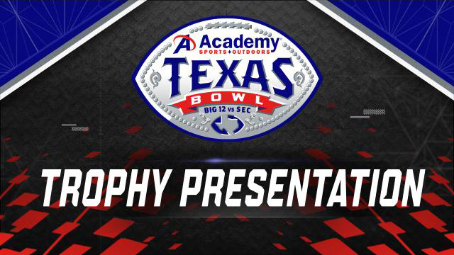 Academy Sports + Outdoors Texas Bowl Trophy Ceremony Presented by Capital One (Bowl Game)