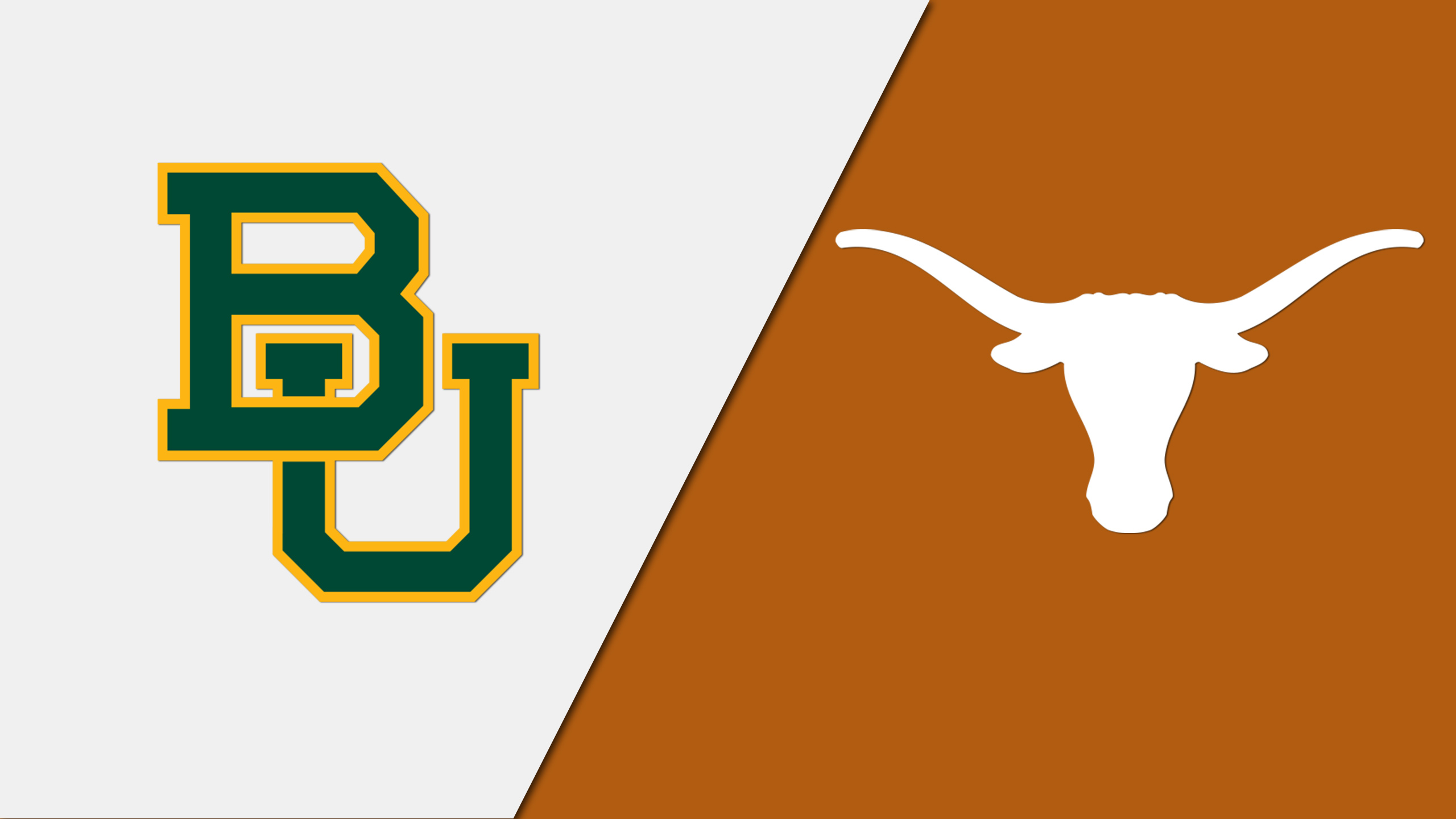 Baylor Bears vs. Texas Longhorns (re-air)