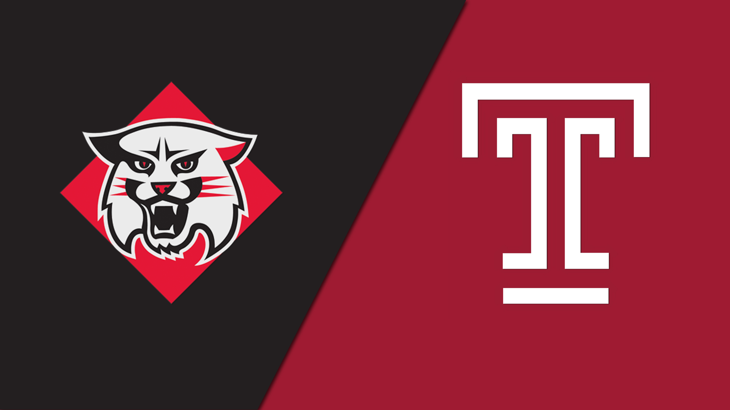 Davidson vs. Temple (M Basketball) (re-air)