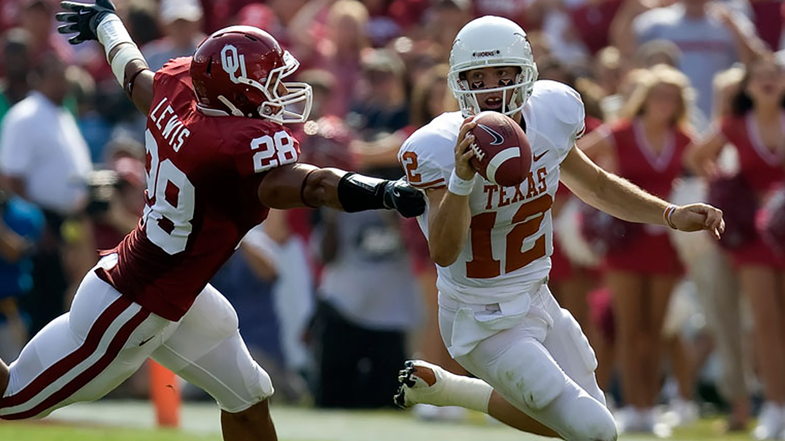 Texas Longhorns vs. #20 Oklahoma Sooners (re-air)