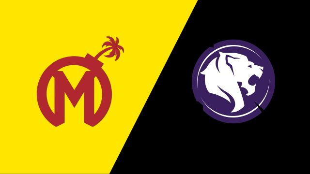Florida Mayhem vs. Los Angeles Gladiators
