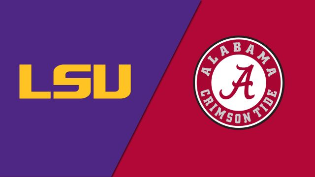 LSU Tigers vs. Alabama Crimson Tide (re-air)