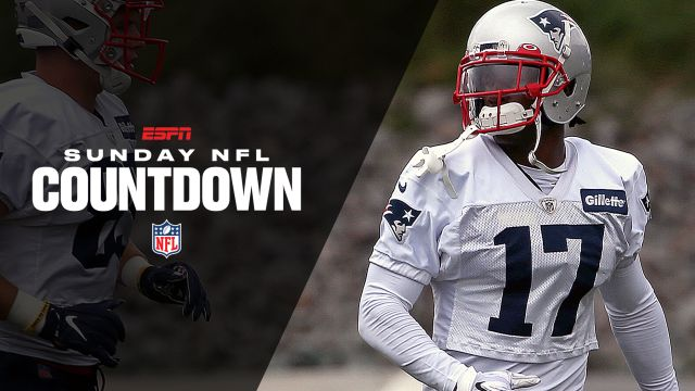 Sun, 9/15 - Sunday NFL Countdown Presented by Snickers