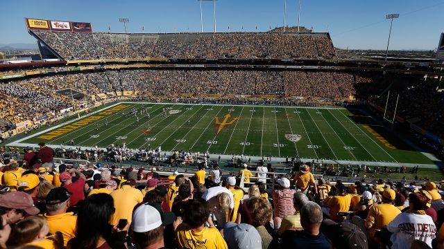 SkyCam-#6 Oregon vs. Arizona State (Football)