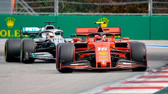 Formula 1 VTB Russian Grand Prix Practice 1