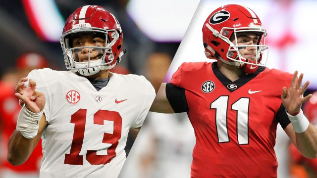 Alabama vs. Georgia
