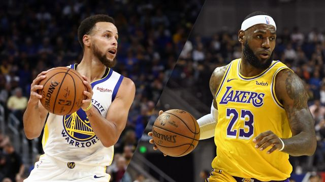 In Spanish-Golden State Warriors vs. Los Angeles Lakers
