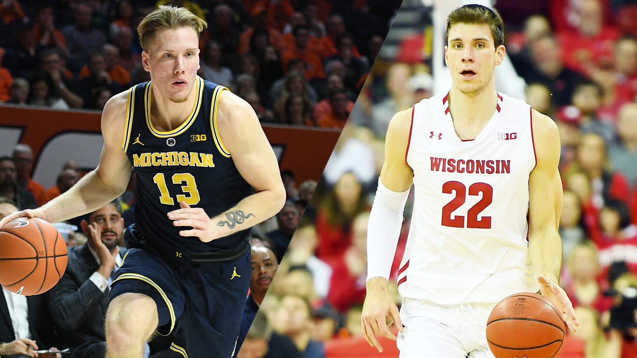 #2 Michigan vs. Wisconsin (M Basketball)