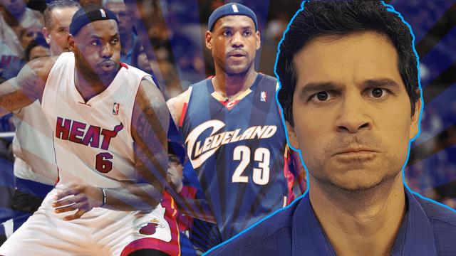 Os maiores FRACASSOS da carreira de LeBron James!