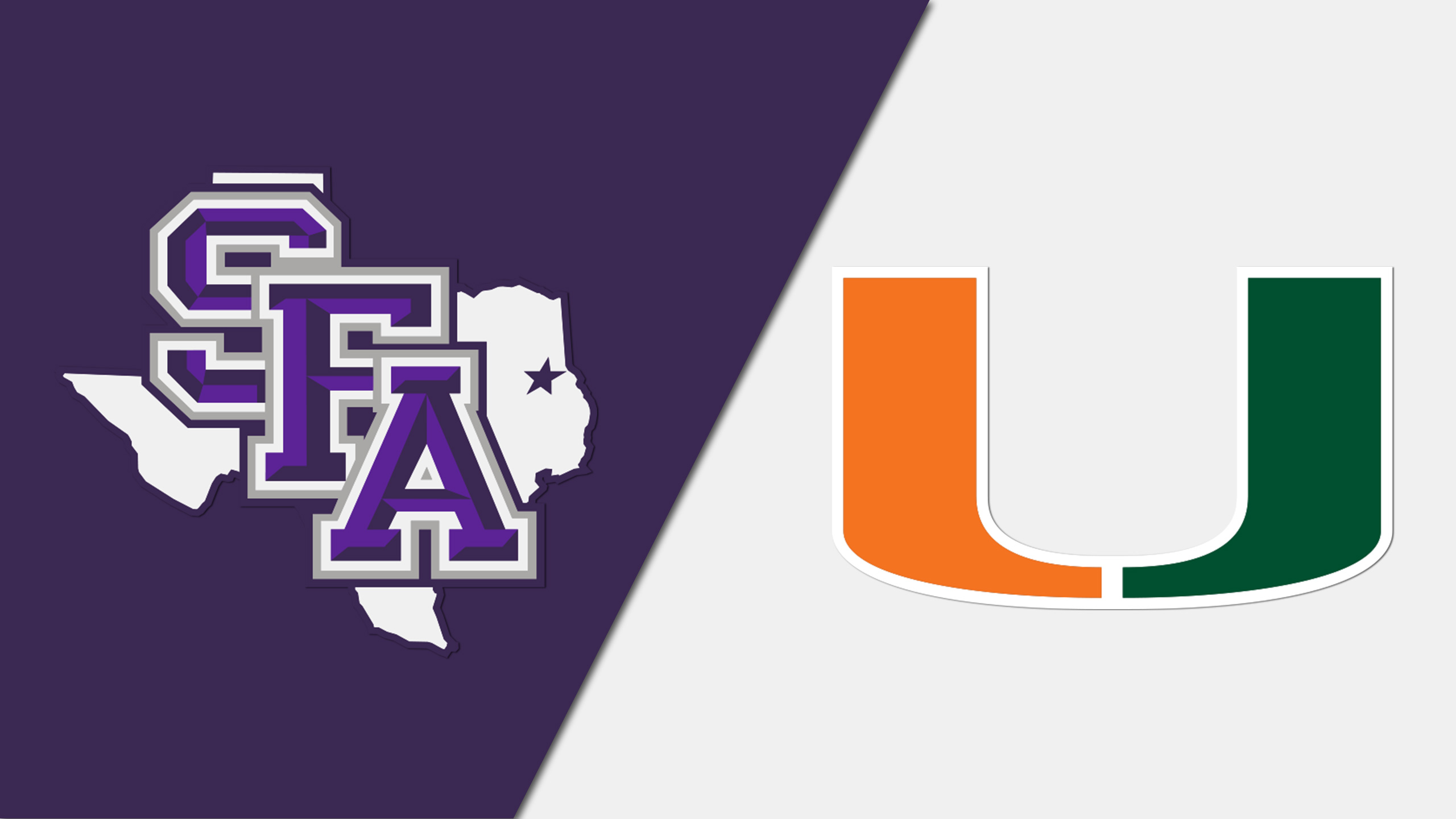 Stephen F. Austin vs. Miami (M Basketball) (re-air)