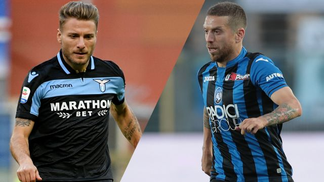 In Spanish-Lazio vs. Atalanta (Serie A)