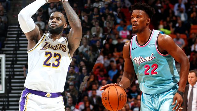 Fri, 12/13 - Los Angeles Lakers vs. Miami Heat
