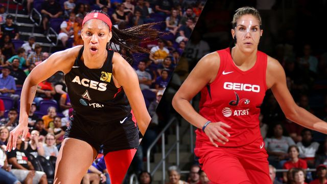 Tue, 9/17 - Las Vegas Aces vs. Washington Mystics (Semifinals, Game 1)