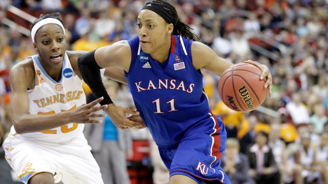 Kansas vs. Tennessee (Regional Semifinal #1) (NCAA Women's Basketball Tournament)