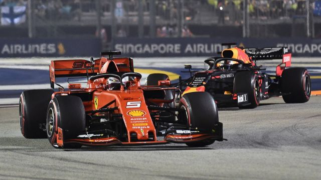 Sun, 9/22 - Formula 1 Singapore Airlines Singapore Grand Prix: Coverage presented by Mothers Polish