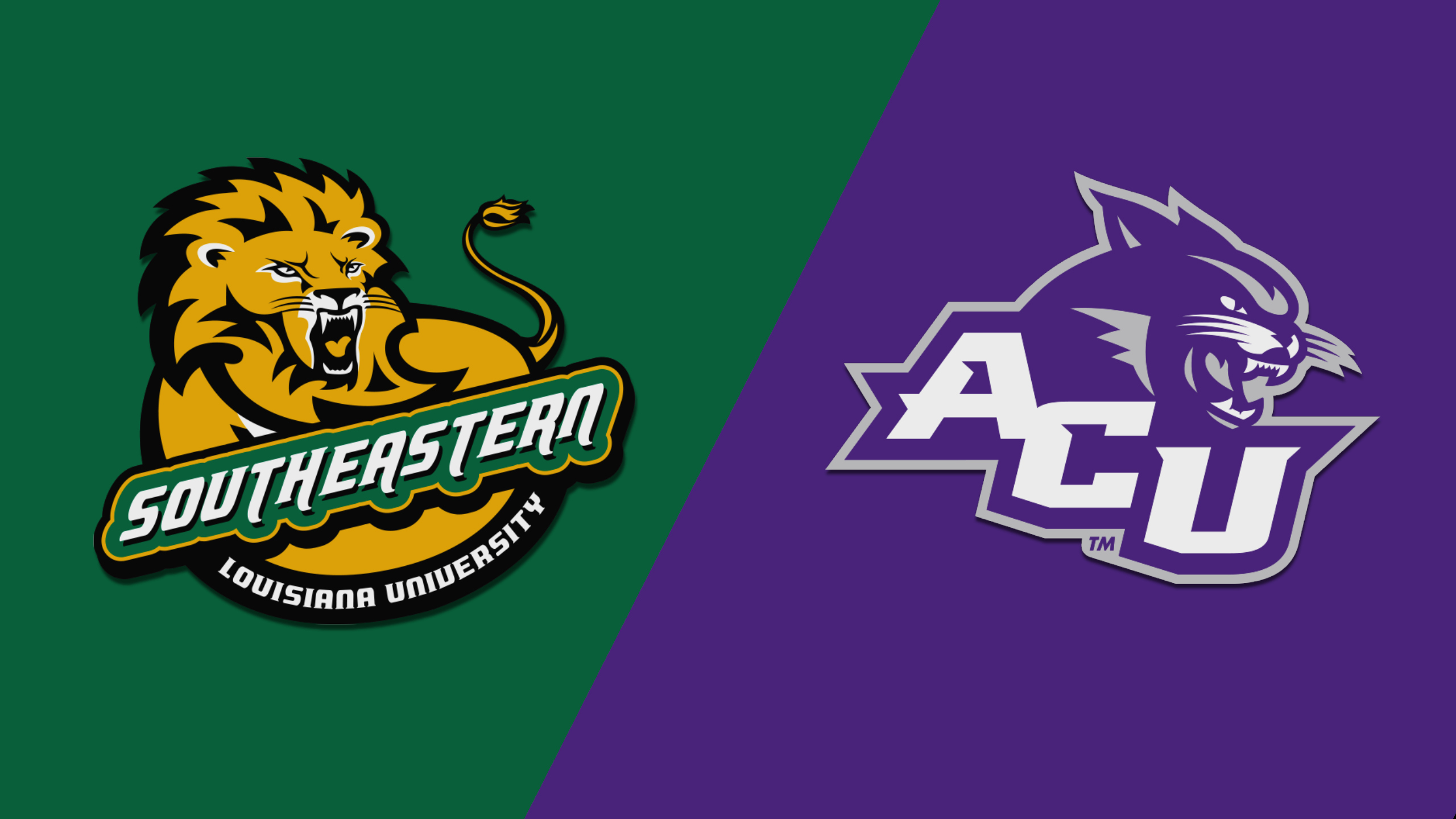Southeastern Louisiana vs. Abilene Christian (W Basketball)