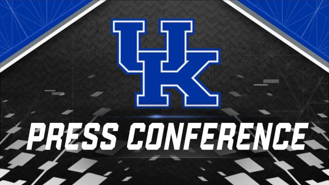 Kentucky Football Press Conference