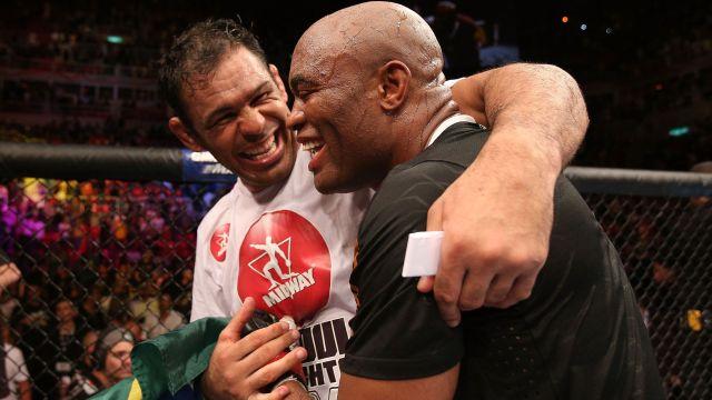 EXCLUSIVA com Anderson Silva: 'Rodrigo Minotauro é o melhor lutador brasileiro de todos os tempos'