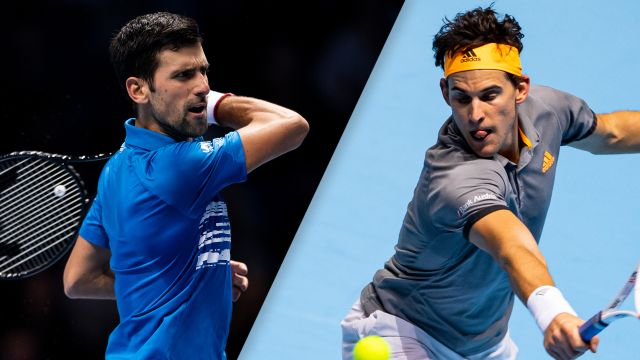 (2) Djokovic vs. (5) Thiem