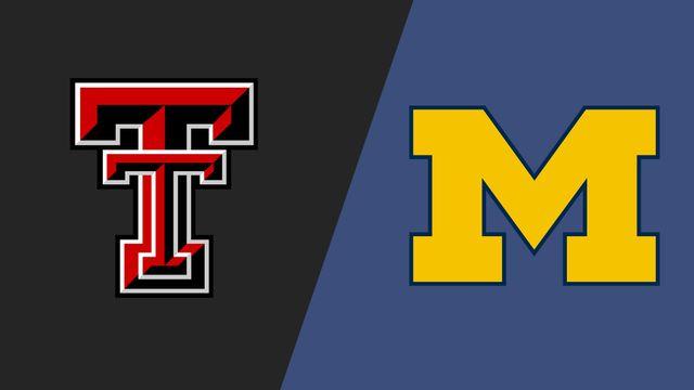 #3 Texas Tech vs. #2 Michigan (Sweet 16)
