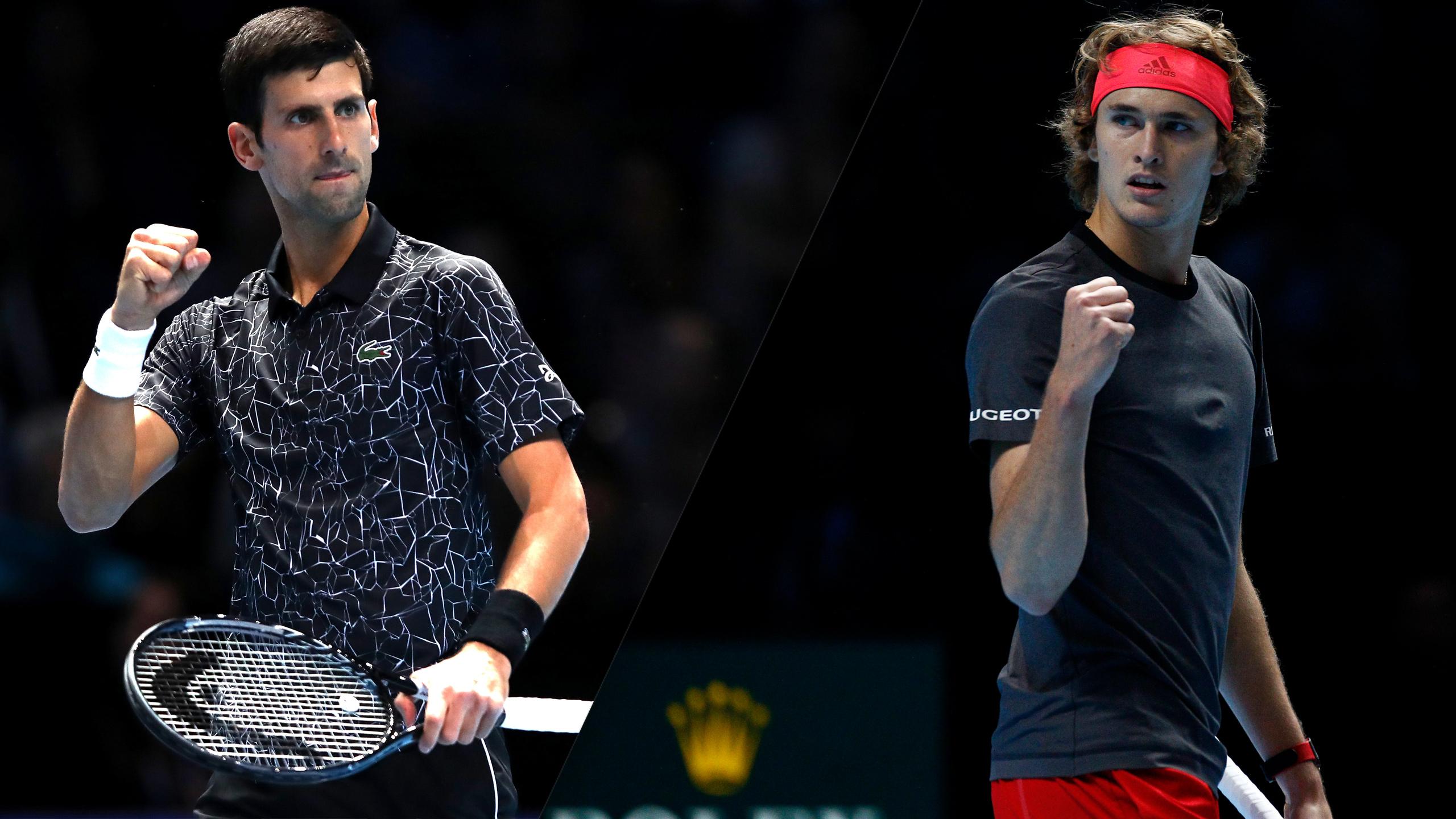 (1) Djokovic vs. (3) Zverev (Round Robin)