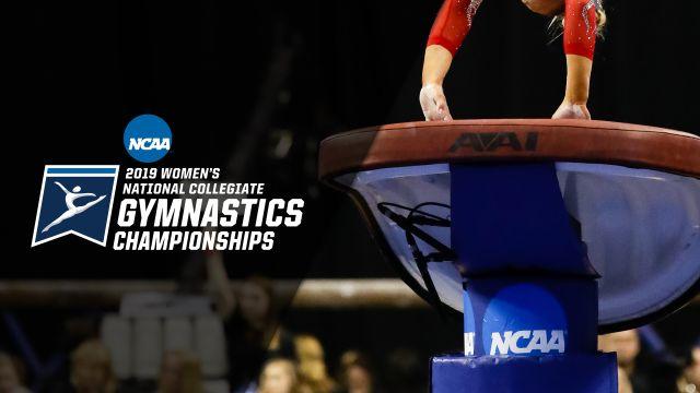 NCAA Women's Gymnastics Championships (Vault, Semifinal #1) (W Gymnastics)