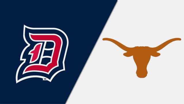Duquesne vs. #23 Texas (re-air)
