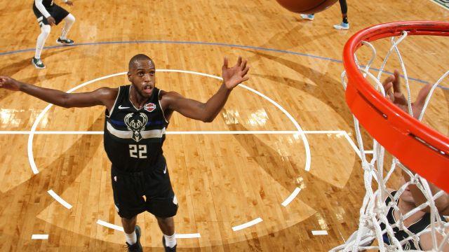 Above the Rim Cameras-New Orleans Pelicans vs. Milwaukee  Bucks