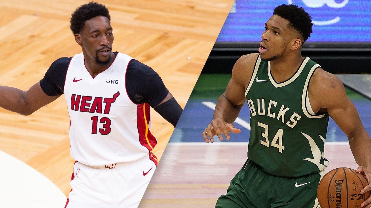 Miami Heat Vs Milwaukee Bucks First Round Game 1 Espn Deportes