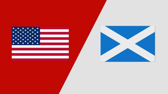 USA vs. Scotland
