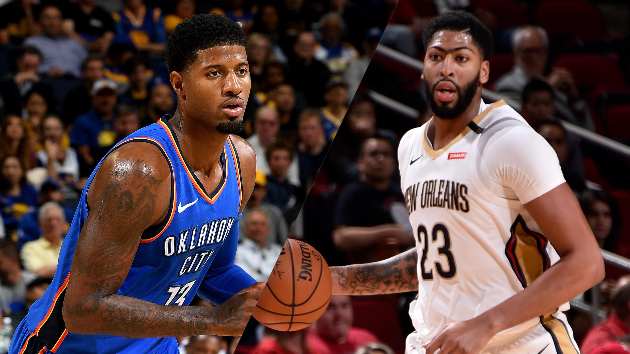 In Spanish - Oklahoma City Thunder vs. New Orleans Pelicans