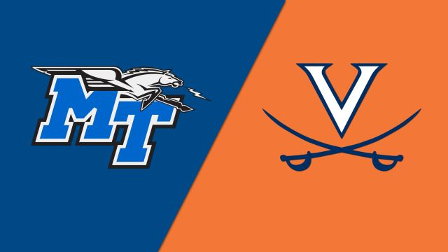 Middle Tennessee State vs. #4 Virginia (Quarterfinal #4)