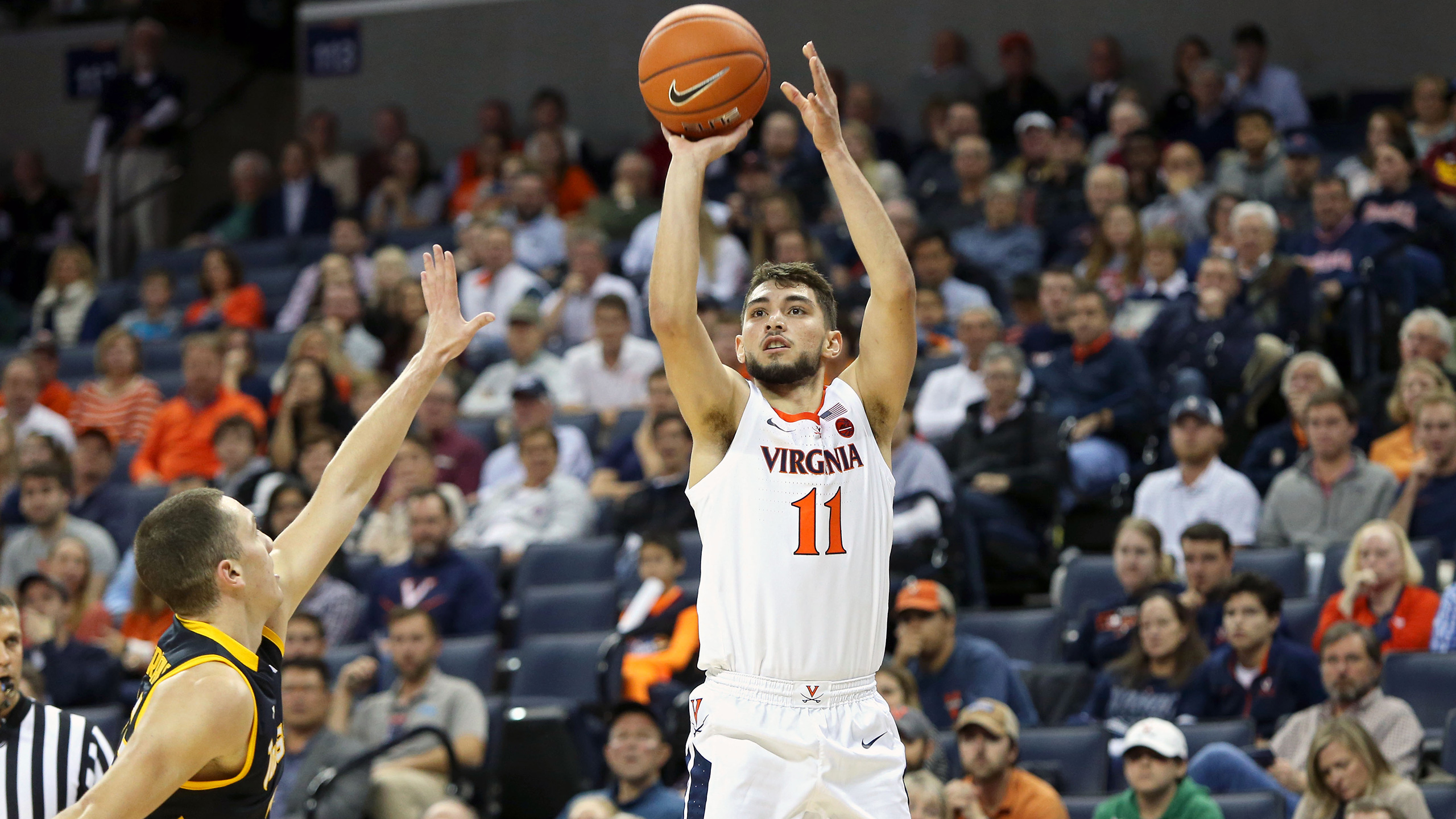 George Washington vs. #5 Virginia (M Basketball)