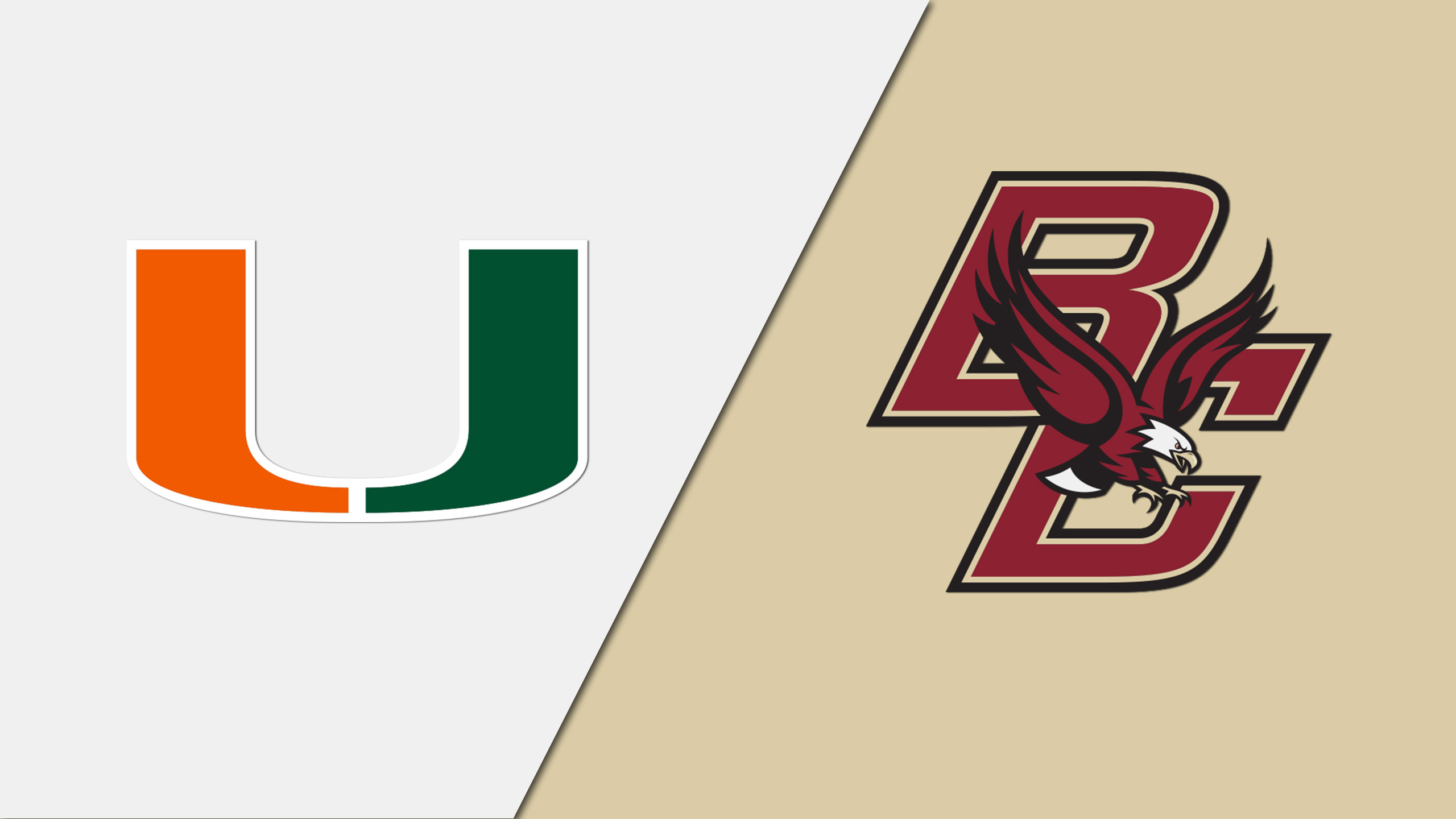 Miami vs. Boston College (M Basketball)