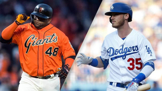 San Francisco Giants vs. Los Angeles Dodgers (re-air)