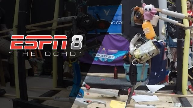 2019 Stupid Robot Fighting League as part of The Ocho
