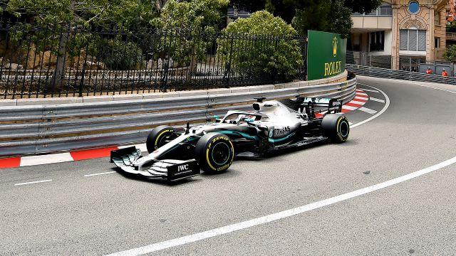 Formula 1 Monaco Grand Prix Practice 2